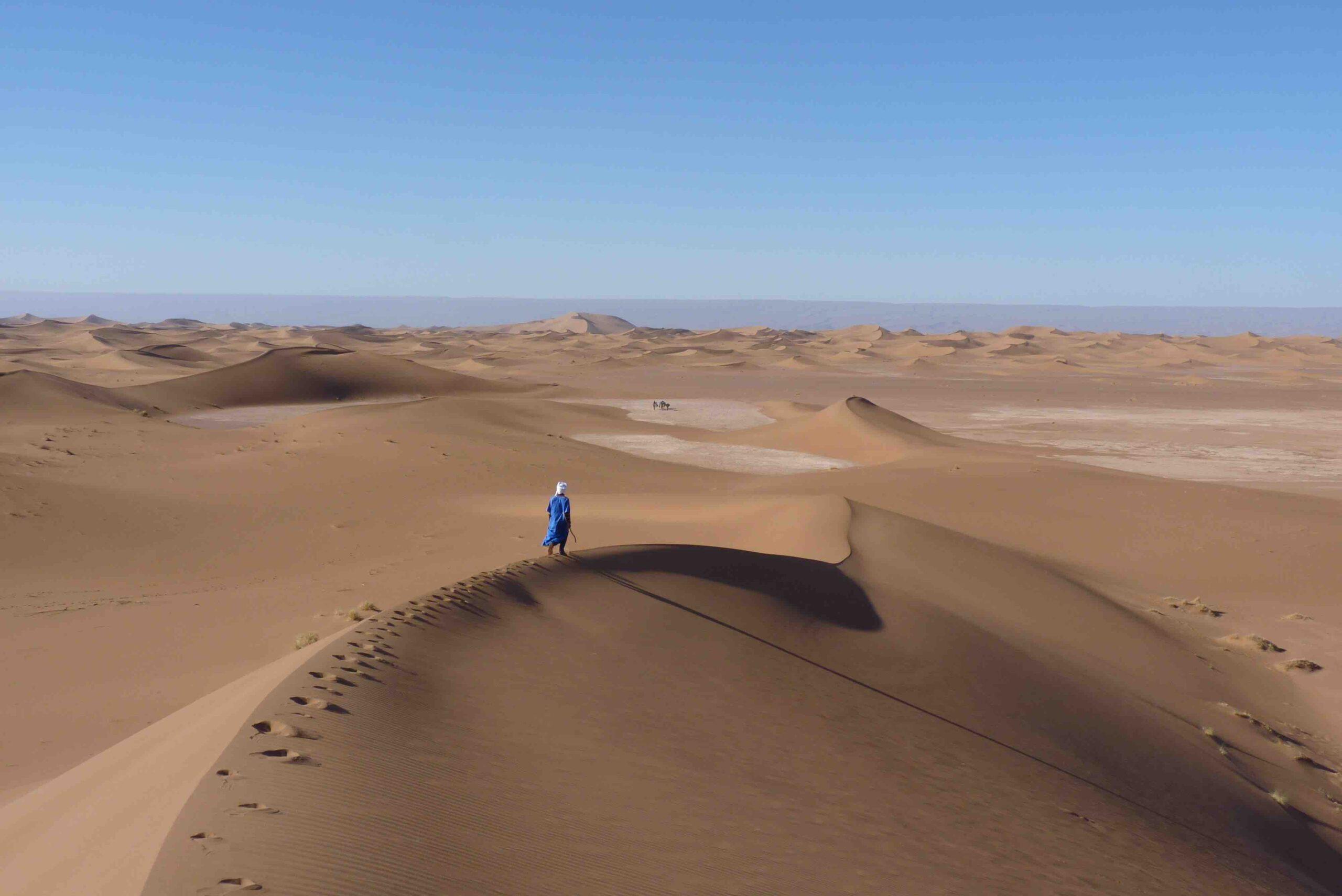 Fühle die Weite der Sahara
