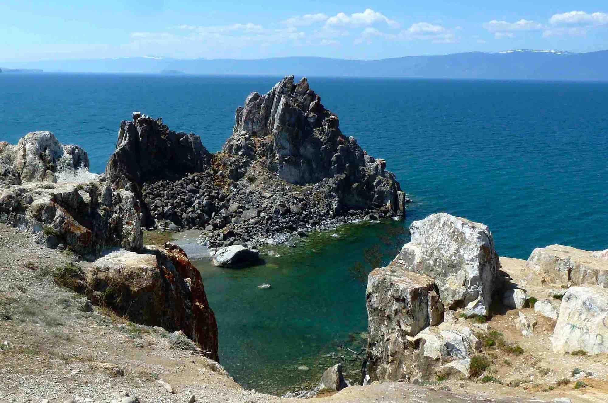 Schamanenfelsen am Baikalsee_Gudrun_Wippel